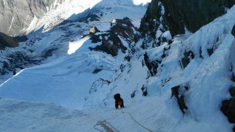 Reg Measures seconding on White Dream