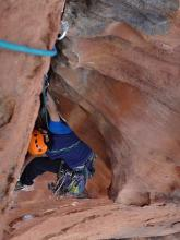 David Dearnly on Catch the Wind (21), Blue Mountains
