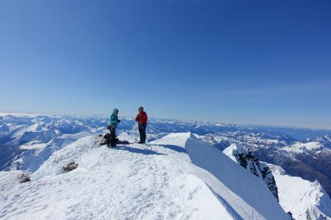 Magical time on the summit