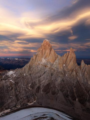 Fitz Roy Sunset.