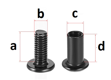 Replacement fastener